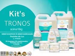 Promoções Kits tronos- mocinhos acima de 16kg
